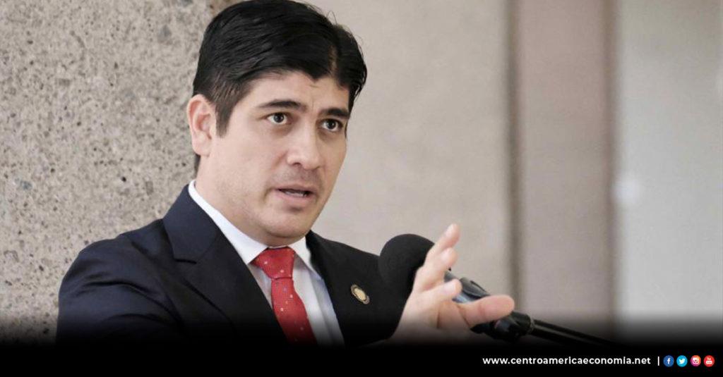 Costa Rica, Centroamérica, Carlos Alvarado, Economía,