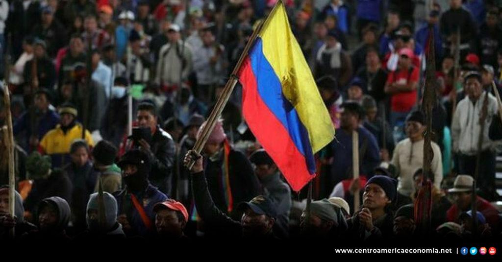 Ecuador, Protesta, Economía, Perdidas Economía,