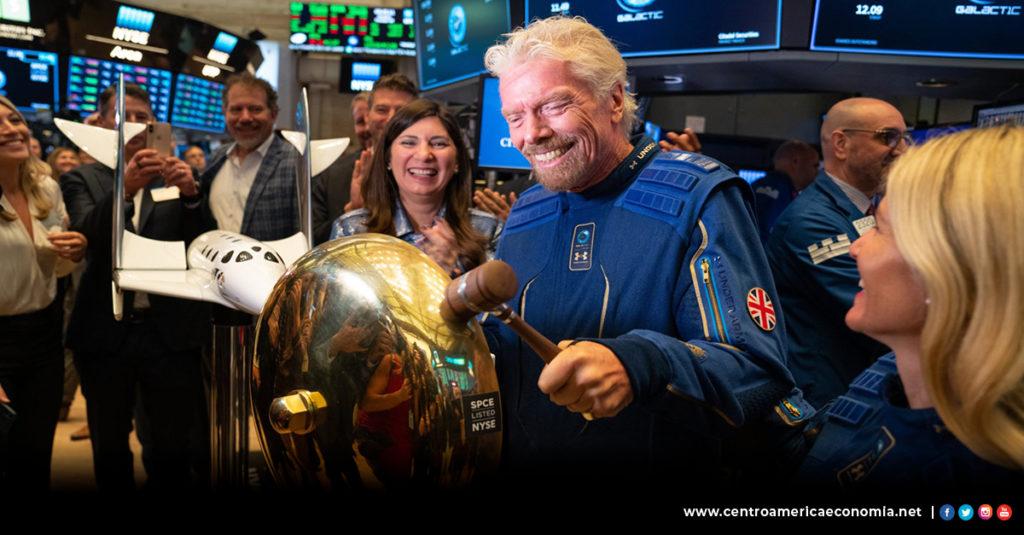Economía, Acciones, Virgin Galactic,