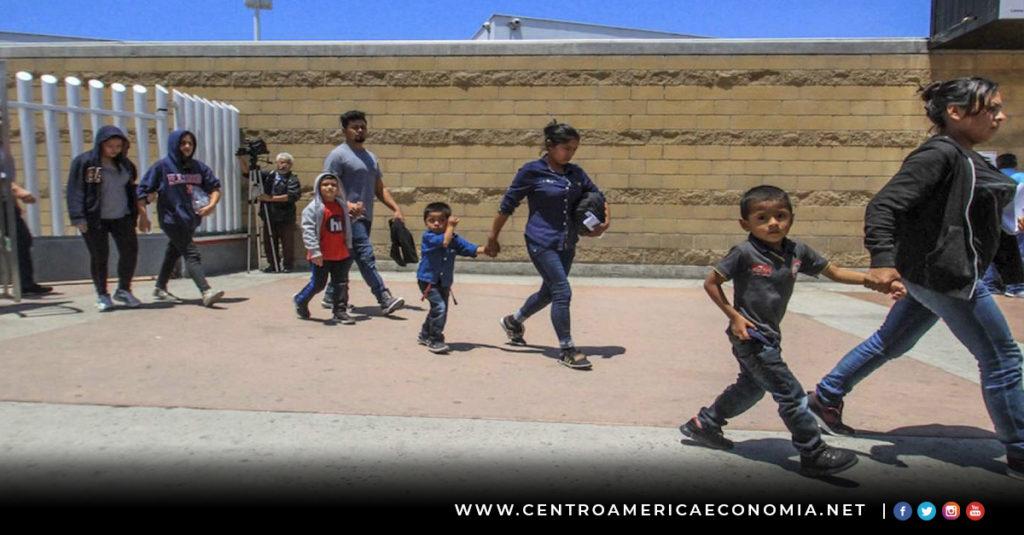 El Salvador, Honduras, Guatemala, EUA, Deportados,