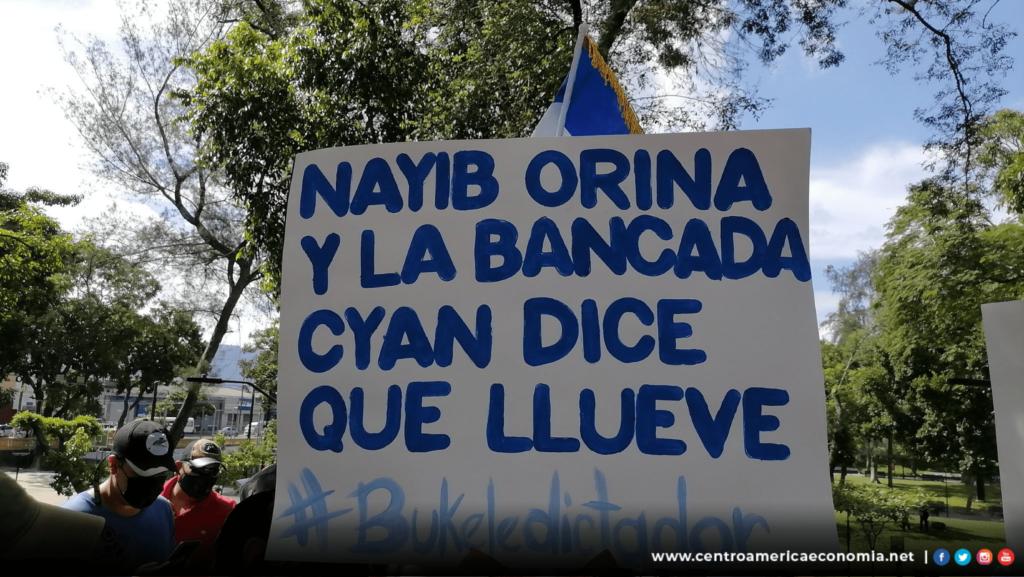 Bitcoin Protesta El Salvador